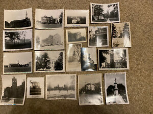 Vintage Photos Gettysburg College Dorms And Chapels 1940s 1950s 19 Pictures $80.00