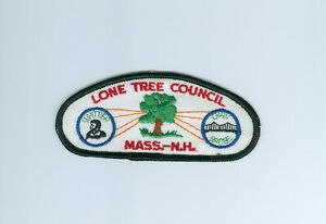 CSP Lone Tree Council Mass. N.H. T 1 first issue $3.49