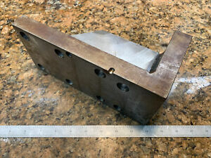 Precision Angle Plate Toolmakers Fixture Inspection Grinding Steel K88 $50.00