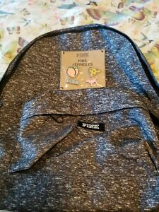 Victoria SECRET Pink Backpack With Pins $20.00