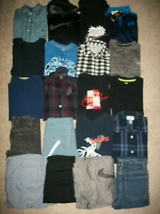 LOT OF 20 BOYS SIZE 7 8 FALL WINTER NAME BRAND NIKE OLD NAVY UNDER ARMOUR 1190 $129.99