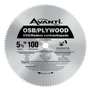 5 1 2 in. x 100 teeth osb plywood saw blade $11.99