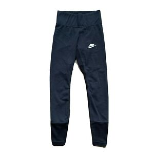 Nike Mesh Black High Waisted Joggers Size Extra Small $24.99