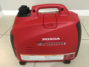 HONDA Generator EU1000I LOCAL PICK UP ONLY WILL NOT SHIP