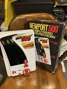 VINTAGE 1980 Castle NEWPORT 500 Computerized GRAND PRIX RACING Electronic Game $35.00