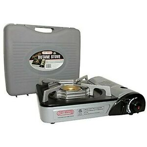 Chef Master 90011 Butane Stove Camp Catering Stove Outdoor Indoor Grill Burner