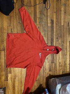 Nike Red Hoodie Xl Therma Fit $40.00