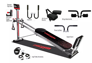 Total Gym XL7 Home Gym with Workout DVDs NEW $365.50