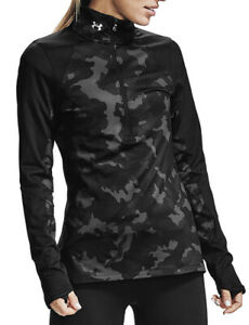 Under Armour Tech Fitted Womens Coldgear Infrared 1 2 Zip Jacket Pullover $39.00