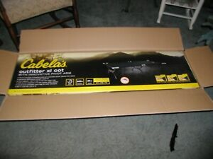 New UnBoxed Cabela#x27;s Outfitter Camping Cot w Pivot Arm; Camping Cots for Adults