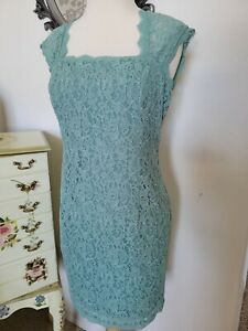 Adrianna Papell Lace Dress 4P NEW $29.00
