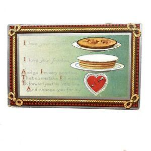 Antique AMP Valentines Day Postcard With 1910 Postmark $5.40