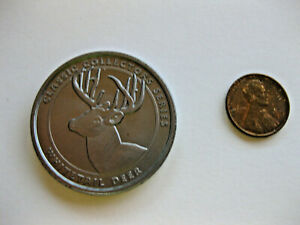 Collectible NRA Whitetail Deer Coin Silver Hunting National Rifle Assoc.