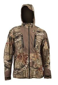 Scent Blocker Apex Hooded Camo Hunting Jacket RTX Large MSRP $300