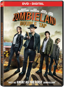 ZOMBIELAND DOUBLE TAP DVD DIGITAL Brand New amp; Sealed Authentic USA FREE SHIP $11.95