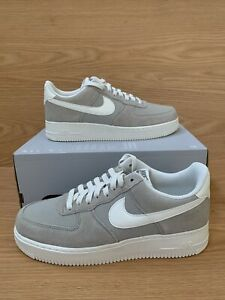 Men Nike Air Force 1 07 2 Spruce Fog Sail Vintage Size 8.5 AQ8741 300 RARE