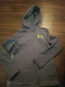 UNDER ARMOUR HOODIE BOYS YOUTH XSMALL GRAY $12.99