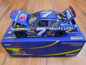 ROBBY GORDON FRUIT OF THE LOOM 2005 TEAM CALIBER DIE CAST 1:24 CAR SIGNED RGM