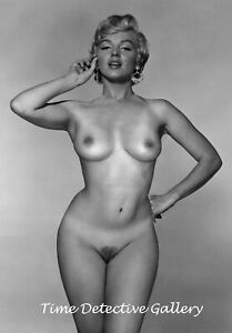 Marilyn Monroe Nude #2 Vintage Celebrity Photo Print