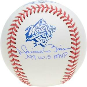 Mariano Rivera Yankees Signed 1999 World Series Logo Baseball amp; quot;99 WS MVPquot; Insc $399.99