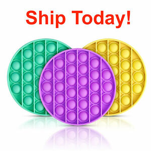 Fidget Toy Pop Its Sensory Push Bubble Stress Relief Kids Pop It Antistress Toy $6.99