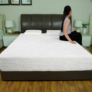 3 Layer COOL Medium Firm Memory Foam Mattress 2 Pillows and Cover 10quot; Full Size $39.99