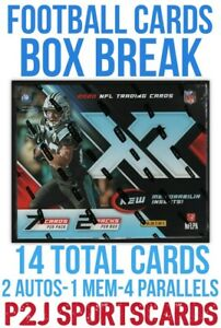 2020 PANINI XR FOOTBALL🏈CARD HOBBY Box BREAK🏈1 RANDOM TEAM🏈NFL🏈Break 4188