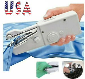Portable Smart Mini Electric Tailor Stitch Hand held Sewing Machine Travel Home $8.29