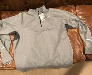 NWT Nike Running Mens 1 4 quarter zip Dri Fit Stay Warm XL $35.00