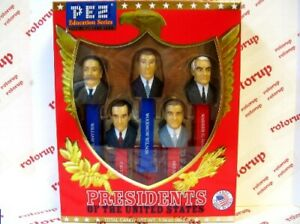 PEZ Volume VI Presidents PEZ dispensers BLOW OUT SALE in gift boxes