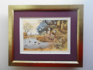 Norman Thelwell Sporting Fishing print #x27;Brothers Of The Angle#x27; FRAMED GBP 19.95