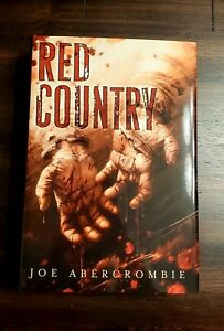 Joe Abercrombie quot;Red Countryquot; Subterannean Press Signed Numbered