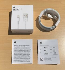 Original OEM Apple iPhone 11 X 8 7 6 5 Lightning USB Cable Charger 2m 6FT $7.99
