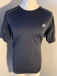 3076 Adidas Climalite Dry Fit Shirt Size XL Short Sleeve Workout T $19.99