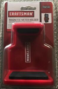 CRAFT MAN MAGNETIC METER HOLDER 82140 Expands Rubber Grips NEW $12.99