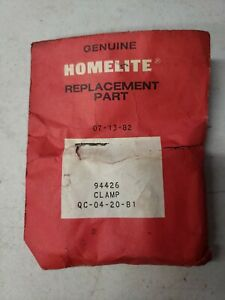 Homelite 94426 Right Clamp for ST 200 String Trimmers OEM NOS *FREE SHIPPING* $4.99