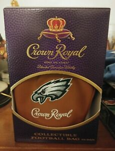 Football Limited Edition Philadelphia Eagles Crown Royal Bag And Box NFL East $36.99