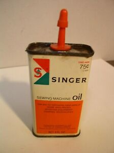 Singer Sewing Machine Oil Can $3.99