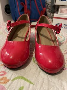 Link Girls Shoes Size 1 Red Mary Jane $12.00
