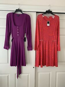 Lot Womens Designer Dresses NWT Juicy Couture XL Retail $336