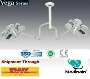 New Double Satellite Ceiling Surgical Lights LED OT Lamp Operation Theater Light $3599.00