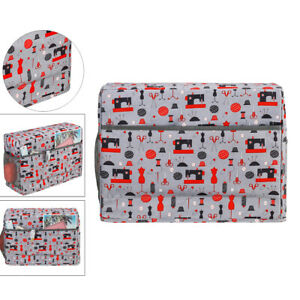 Quilted Sewing Machine Cover Portable Carrying $20.58