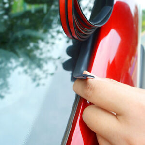 Car Windshield Roof Seal Noise Insulation Rubber Strip Sticker Accessories 2M $13.49