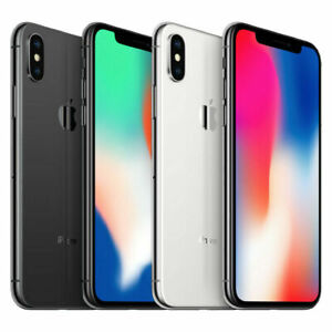 Apple iPhone X 64GB 256GB Factory Unlocked ATamp;T Verizon T Mobile $309.99