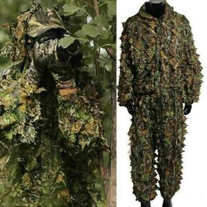 Hunting Clothes New 3d Maple Leaf Ghillie Bionic Suits
