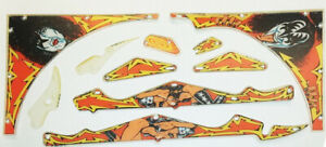 Bally Kiss Playfield Plastic Set 10 Piece Set M 1330 157 Now out of Print $119.00