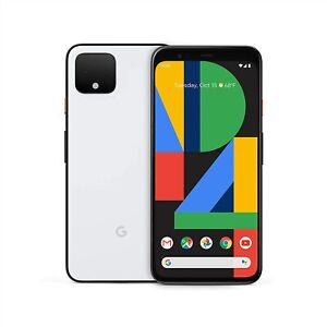 Google Pixel 4 64GB White Factory Unlocked LTE Smartphone Open Box $249.99