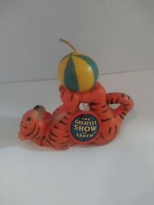 Vintage 1987 RINGLING BROTHERS BARNUM BAILEY CIRCUS Tiger Candle Kenneth Feld $12.50