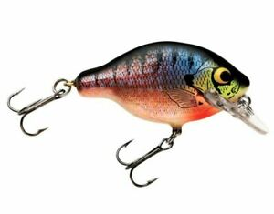 Bagley Small Fry 1 Bream on White 1 4 oz 2quot; Fishing Lure