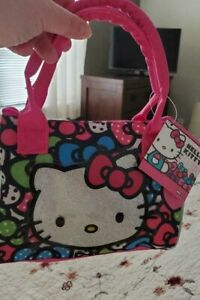 Hello Kitty Purse....2 handles...ships FREE BRAND NEW with tag